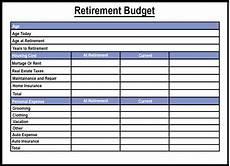 Retirement Budget Planner Free Sample Printable Budget Planner Template Pdf Word