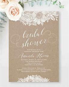 Printable Invitations At Home 10 Affordable Bridal Shower Invitations You Can Print At