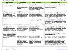 Sample Curriculums Arts Integrated Math Sample Curriculum Map Educationcloset