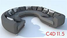 Oval Sofa 3d Image by Modern Sofa 3d Model