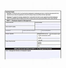 Sample Of Employee Write Up Free 7 Sample Employee Write Up Forms In Pdf