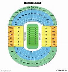 Ud Football Stadium Seating Chart Neyland Stadium Seating Chart Seating Charts Amp Tickets