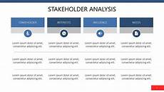 Stakeholder Analysis Template Stakeholder Analysis Free Powerpoint Template