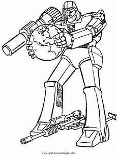 transformers megatron 6 gratis malvorlage in comic