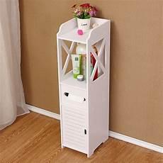 bathroom side cabinet waterproof toilet side cabinet