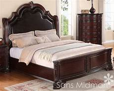 new collection king size bed traditional cherry