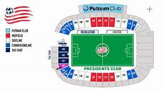 Gillette Stadium Soccer Seating Chart Revolution Seating Chart Gillette Stadium