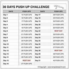 Push Up Chart For Beginners Push Ups Workout Routine Chart 30 Day Pushup