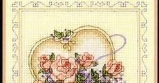 Free Wedding Cross Stitch Patterns Charts United Hearts Wedding Record Cross Stitch Pattern