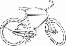 city bicycle coloring page free printable coloring pages