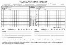 Volleyball Stat Sheet 8 Free Sample Volleyball Score Sheet Templates Printable