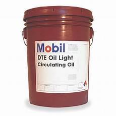Dte Oil Light Mobil Mobil Dte Oil Light Premium Circulating Oil 5 Gal
