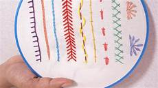 embroidery for beginners embroidery for beginners part 5 10 stitches