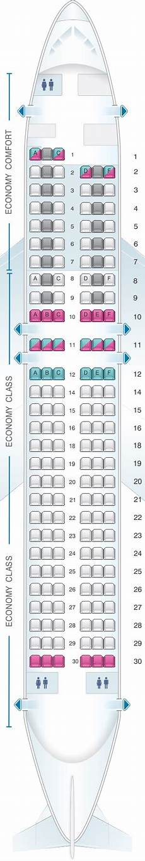 Alitalia Flight 631 Seating Chart Plan De Cabine Alitalia Airlines Air One Airbus A320