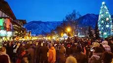 Leavenworth Wa Tree Lighting Christmas Lighting Festival 2016 Leavenworth Wa Youtube