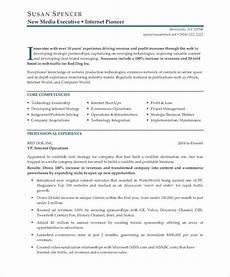 Digital Media Resume Executive Resume Makeover Digital Media Executive Blog