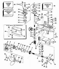 Johnson 1996 30 J30elede Gearcase Parts Catalog
