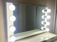 Conair Led Natural Light Vanity Mirror White Lighted Starlet Makeup Vanity Mirror New