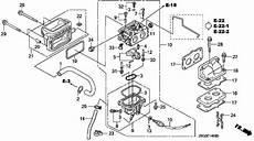 Запчасти карбюратора Honda Gx670u Txf4 Carburetor