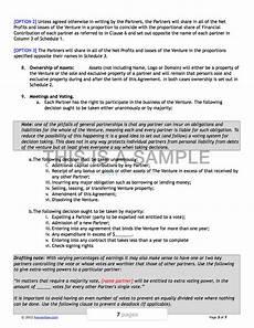 Joint Venture Contract Joint Venture Contract Template