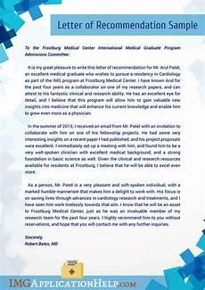 Letter Of Recommendation For Residency Img Letter Of Recommendation Writing Service