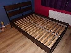 ikea bed frame trysil with luroy slatted bed base
