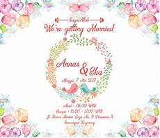 undangan pernikahan wedding invitation kode uno 01