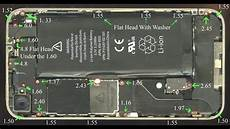 Iphone 5 Screw Size Chart Iphone 4 Screw Size Chart Amp 4s And 5 Link In The