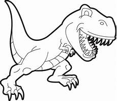 printable t rex dinosaur coloring page for supplyme