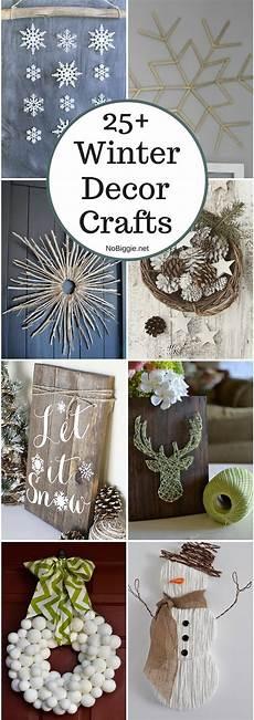 25 winter decor crafts nobiggie