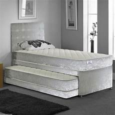 new hf4you 3ft single 3 in 1 divan guest bed silver
