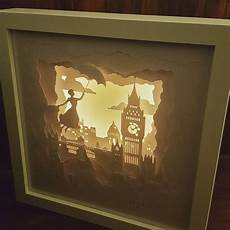 Battery Powered Shadow Box Light Practically Perfect In Every Way Mary Poppins Inspired