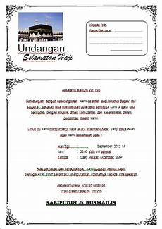 download undangan syukuran haji word harga undangan tas