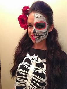 a says what dia de los muertos makeup