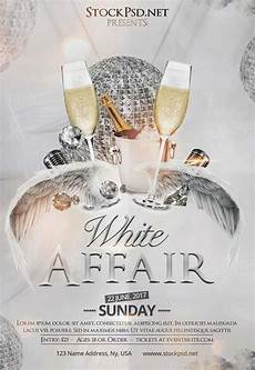Free All White Party Flyer Template White Affair Party Free Club Flyer Template Download