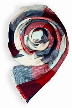 a blanket scarf is the chic layering