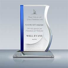 Appreciation Award Employee Recognition Crystal Progress Award 019