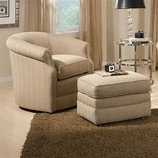 accent chair and ottoman smith brothers accent chairs and ottomans sb barrel swivel