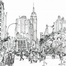 new york city skyline coloring pages at getcolorings