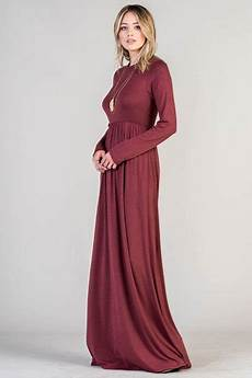 solid sleeve gown dresses solid jersey sleeve maxi dress with pockets