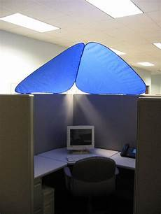 Overhead Desk Light Cubeshield Cubicle Roof Cubicle Makeover Office