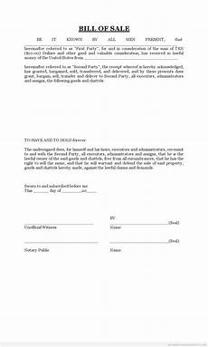 Free Printable Bill Of Sale Form Free Printable Bill Of Sale Form Word Template
