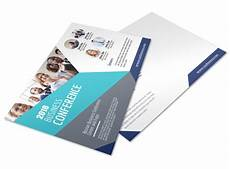 Online Business Invitations Business Conference Invitation Postcard Template