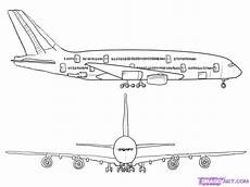 Airplanes Drawings How To Draw An Airplane Step By Step Airplanes