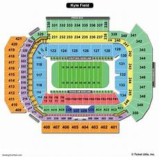 John M Greene Hall Seating Chart Kyle Field Seating Chart Seating Charts Amp Tickets