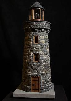 House Of Stone And Light Miniature Stone Lightehouse Lighthouse Crafts Miniature