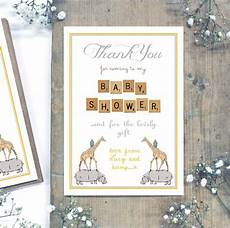 Baby Post Cards Personalised Baby Shower Thank You Postcards By Precious