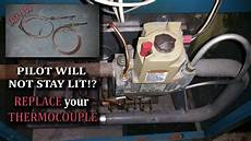 Will A Pilot Light Stay Lit With A Bad Thermocouple Boiler Pilot Won T Light Replacing The Thermocouple If