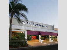 Broadway Palm Dinner Theatre Fort Myers, FL Directions