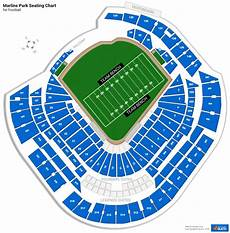 Marlins Seating Chart Marlins Park Seating Charts For Football Rateyourseats Com